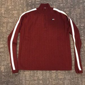 Abercrombie & Fitch A/92 Maroon  sweater